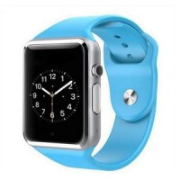 Smart Watch A1 / U10 Camera + Sim Phone + Memori Card ( NEW ) BIRU