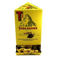 [poledit] Toblerone TOBLERONE MINIS MILK CHOCOLATE 0.28 OZ TINY BARS 100 ct DISPLAY (T1)/12623889