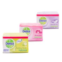 Promo 15% 10pcsx105gr Dettol Bar Soap Super Hemat