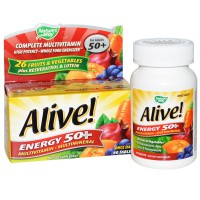 Nature's way Alive Energy multivitamin for adults 50+ - 60 Tablet