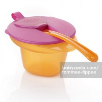 Tommee Tippee Cool and Mesh Weaning Bowl - Orange