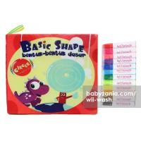 Wii-Wash Washable Book with Markers - Basic Shape Circle
