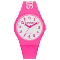 [poledit] Superdry SYG164PW Urban Neon Pink Silicone Strap Watch (T1)/12660736