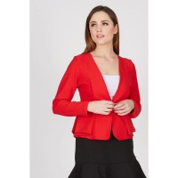 NP Layer Pocket Jacket Red