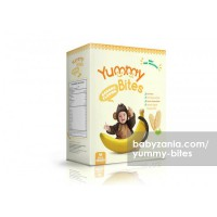 Yummy Bites Baby Rice Cracker  50 gram - Banana