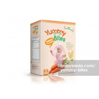 Yummy Bites Baby Rice Cracker  50 gram - Carrot