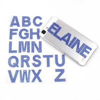 [globalbuy] FENGRISE Rhinestones Alphabet Letters Creative Wall Stickers Decals Phone Livi/4420292