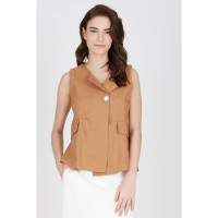 GW Ketzin Vest in Brown