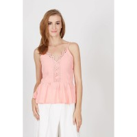 Gwen Joachim Top in Pink