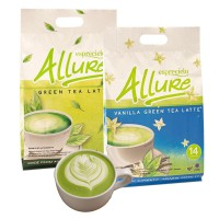 Esprecielo Allure Green Tea Latte / Vanilla Green Tea Latte Eco Bag - 14 Sachet @ 24gram