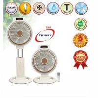 [Maspion] JF-2120 RC Box Fan 2in1 12'' ( 30cm )