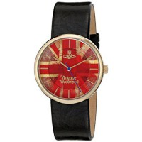 [poledit] Vivienne Westwood Women`s VV021UJBK Imperialist Analog Display Swiss Quartz Blac/12581087