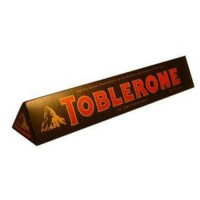 [poledit] Toblerone Bar - Swiss Dark Chocolate with Honey & Almond Nougat Bar (Pack of 3 B/14292156