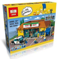 LEPIN The Simpson Kwik-E-Mart Toy Brick 2220 Pcs