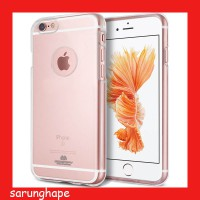 Mercury Jelly Clear Anti Yellow Case for iPhone 6 / 6s - Transparan