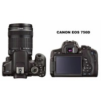 Canon Eos 750D WIFI EF-S 18-55 IS STM datascrip