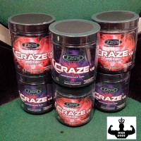 CRAZE V2 40 Servings By : DRIVEN SPORTS - PRE WORK OUT -