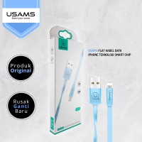 Buy 1 Get 1 USAMS Flat Kabel Data iPhone Teknologi Smart Chip