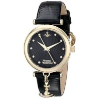 [poledit] Vivienne Westwood Women`s VV108BKBK Trafalgar Analog Display Swiss Quartz Black /12881906