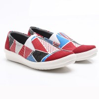 Dr.Kevin Canvas Shoes 43182 Red / White