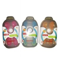 Fisher Price Fork and Spoon Travel Set