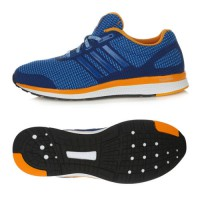 Adidas 2016 MANA Bounce Running Training Shoes Fitness Blue/Yellow AF4112