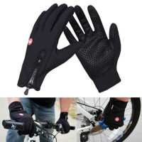 [globalbuy] Popular Outdoor Sport Skiing Touch Screen Glove Cycling Gloves Keep Warm Racin/4525745