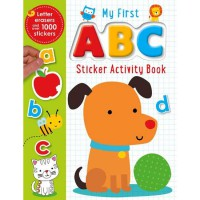 [Hellopandabooks] My First ABC Sticker Activity Book with Letter Erasers and over 1000 Stickers