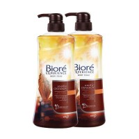 Biore Experience Body Foam Exotic Cinnamon 550ml - 2 Pcs