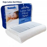 Fastworld Bantal Ergo Latex Gel Pillow – Dunlopillo ( 12Cm x 60Cm x 40)