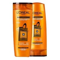 Loreal Smooth Intense Caring Shampoo 330ml + Conditioner 330ml