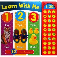 [HelloPanda] Learn with Me 123 Sound Book with over 30 fun number sounds