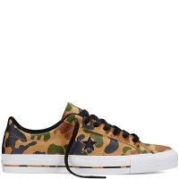 Converse One Star Pro Ox Camo Graphic 151385C Sandy Chocolate Black Insole Lunarlon ORIGINAL