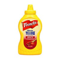 [poledit] French`s Frenchs Spicy Yellow Mustard, 14 ounce (R1)/13657619