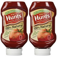 [poledit] Hunt`s Tomato Ketchup 100 Natural No High Fructose Corn Syrup 20 oz (Pack of 2) /12134803