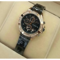 Gc Guees Collection Original Swiss Made X58002G1S (Black-Rosegold)