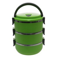 Rantang 3 Susun / Stainless Steel Lunch Box