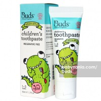 Buds Children's Toothpaste Green Apple 1- 3 Year - 50ml