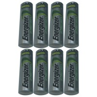 ENERGIZER - 8 Pcs Rechargeable Baterry AA NImH