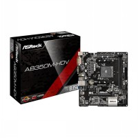 Asrock AB350M-HDV (Socket AM4)