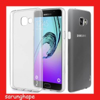 Mercury Jelly Clear Anti Yellow Case for Samsung Galaxy A5 A510 2016 - Transparan