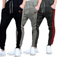 Men's Jogger Pants With List Combination | 4 Warna | celana Jogger pria