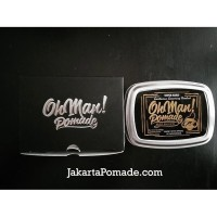 Oh Man! Pomade Mystic Gold - Wax Based Pomade Free sisir