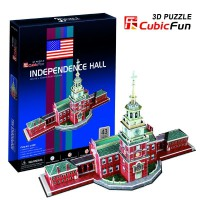 3D PUZZLE CUBIC FUN INDEPENDENCE HALL