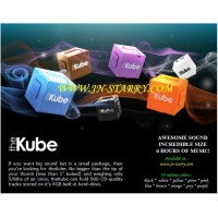 mp3 THE KUBE 8gb original smallest mp3 in the world ipod killer quality (produk singapore)