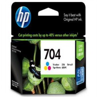 HP 704 COLOR / TRI-COLOR ORIGINAL INK CARTRIDGE