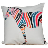 Hermosa Bantal Sofa 40x40 Zebra Multicolor