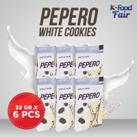 [LOTTE] Pepero White Cookies 32G- 6 Pcs