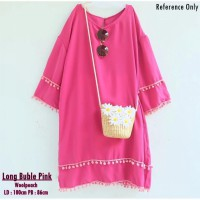 Long Buble Pink