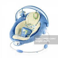 Bright Starts Comfort & Harmony Cradling Bouncer - Patchberry Park